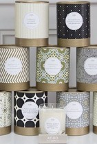 Collection bougies parfumées KOBO Candles 100% cire de soja
