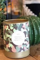 Collection CAMO bougies parfumées KOBO Candles 100% cire de soja