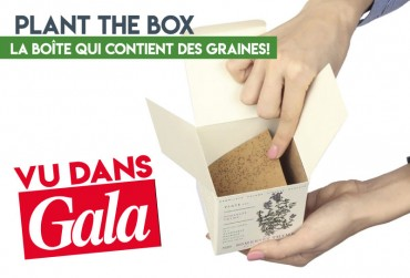 VU DANS GALA! Plant the box - jolie graine de bougie!